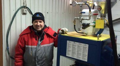 Установка iCON IGR-100 в Якутию