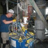 Промышленные испытания концентратора i350  и установки IGR 100 в  Казахстане