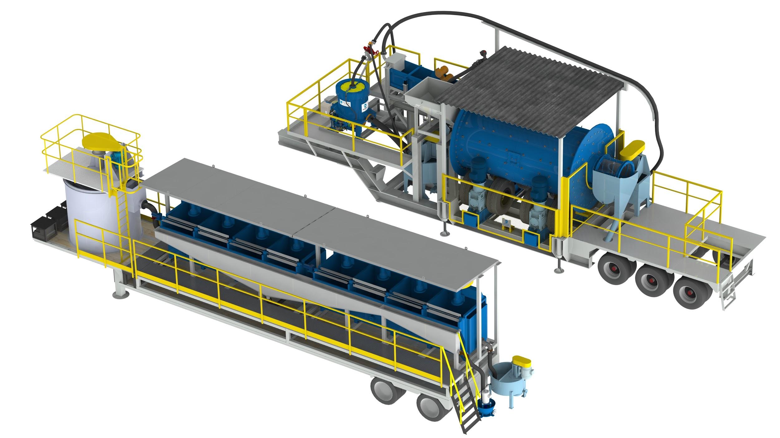 Передвижные технологические модули Sepro Mineral Systems