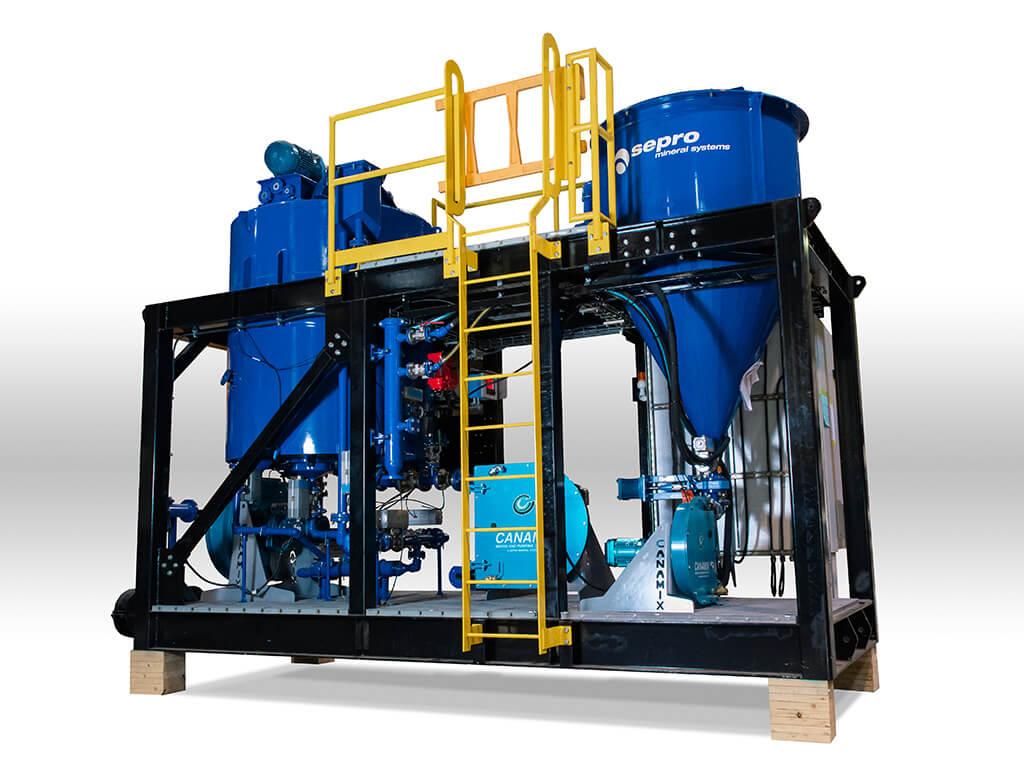 Реактор выщелачивания Sepro для извлечения золота